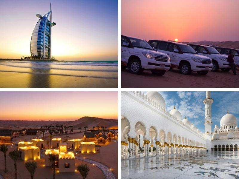 Dubai. Abu Dhabi i desert de Liwa