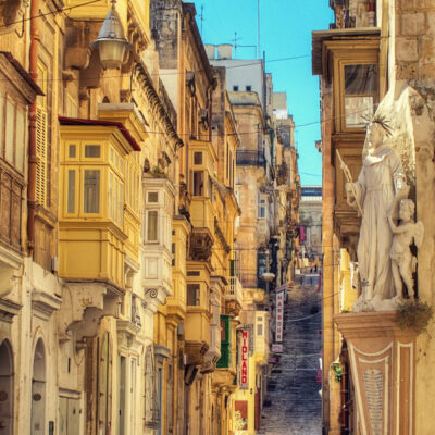 Battery Street Valletta