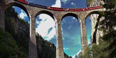 Viaducto de landwasser